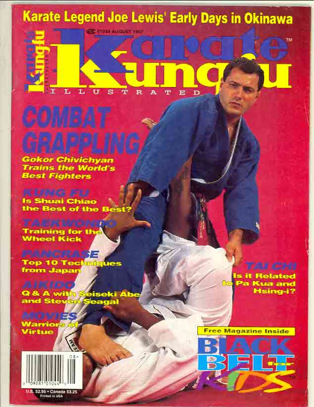 08/97 Karate Kung Fu Illustrated